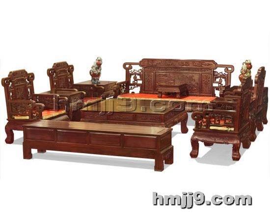 红木家具网提供生产古典沙发厂家