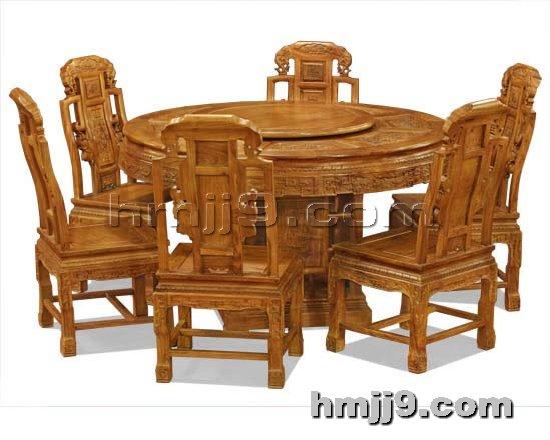 红木家具网提供生产北京红木餐桌椅厂家