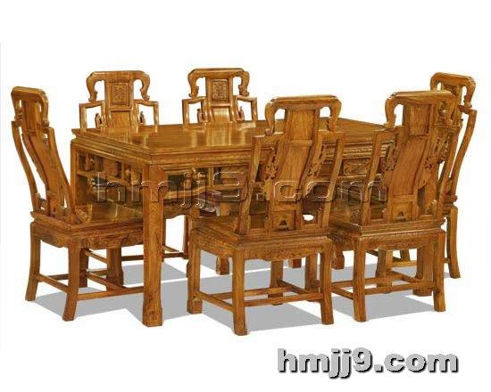 红木家具网提供生产北京古典餐桌椅厂家