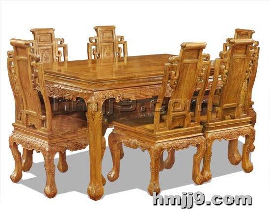 红木家具网提供生产古典餐桌椅厂家