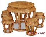 红木古典餐桌椅