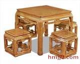 红木茶水桌