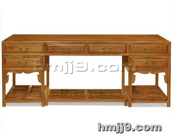 红木家具网提供生产红木书桌厂家
