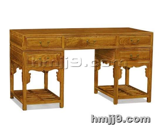 红木家具网提供生产红木电脑桌厂家